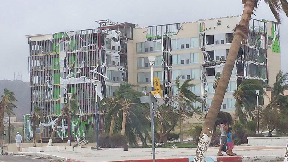 Cabo News Hotels Damaged By Odile